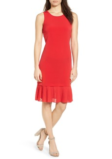 MICHAEL Michael Kors Pleat Hem Dress