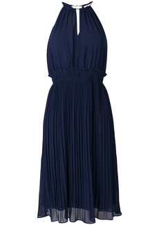 MICHAEL Michael Kors pleated flared dress