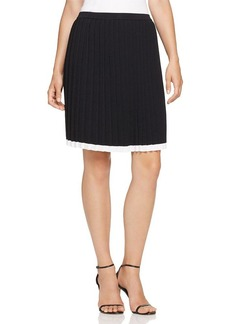 MICHAEL Michael Kors Pleated Sweater Skirt