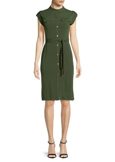 MICHAEL MICHAEL KORS Plus Cap-Sleeve Dress