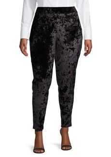 MICHAEL Michael Kors Plus Classic Velvet Leggings