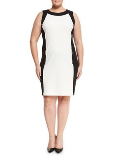 MICHAEL Michael Kors Plus Colorblock Sleeveless Dress