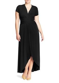 Michael Michael Kors Plus Crossover Maxi Dress