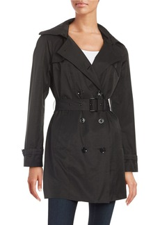 MICHAEL MICHAEL KORS Plus Double-Breasted Trench Coat