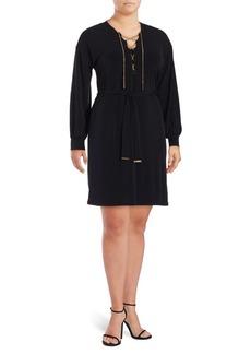 MICHAEL MICHAEL KORS Plus Long-Sleeve Dress
