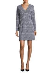 MICHAEL MICHAEL KORS Plus Plus Plaid Jacquard Sheath Dress