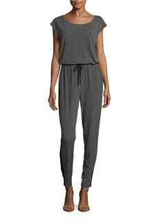 MICHAEL MICHAEL KORS Checked Drawstring Jumpsuit