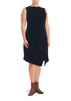 MICHAEL MICHAEL KORS PLUS Plus Embellished Knit Dress