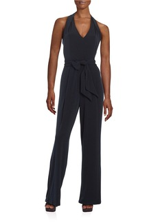 MICHAEL MICHAEL KORS PLUS Plus V-Neck Knit Jumpsuit