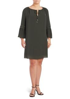 MICHAEL MICHAEL KORS Plus Raglan-Sleeve Dress