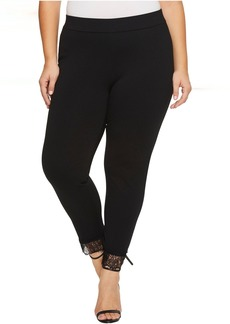 MICHAEL Michael Kors Plus Size Lace Cuff Ponte Leggings