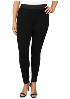 MICHAEL Michael Kors Plus Size Leather Panel Pant