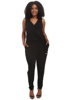MICHAEL Michael Kors Plus Size Studded Jumpsuit