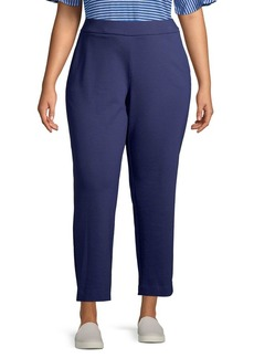 MICHAEL Michael Kors Plus Slim Pull-On Pants