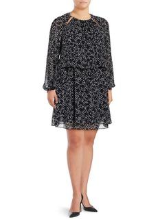 MICHAEL MICHAEL KORS Plus Star Blouson Dress