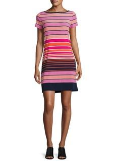 Michael Michael Kors Plus Striped T-Shirt Dress