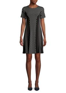MICHAEL Michael Kors Polka Dot Mini Dress