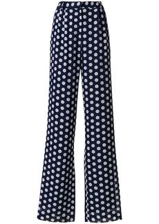Michael Michael Kors polka-dot palazzo pants - Blue