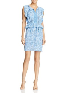 MICHAEL Michael Kors Pom-Pom Trim Peplum Dress - 100% Exclusive