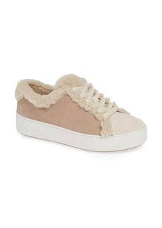 MICHAEL Michael Kors Poppy Genuine Shearling Trim Platform Sneaker (Women)
