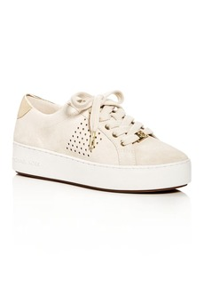 MICHAEL Michael Kors Poppy Platform Lace Up Sneakers