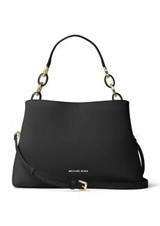 MICHAEL MICHAEL KORS Portia Large East West Saffiano Leather Shoulder Bag