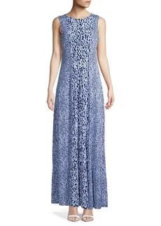 MICHAEL Michael Kors Printed A-Line Maxi Dress