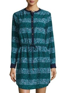 MICHAEL Michael Kors Printed Button-Front Shirtdress