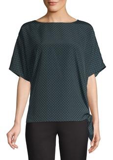 MICHAEL Michael Kors Printed Kimono Sleeve Top