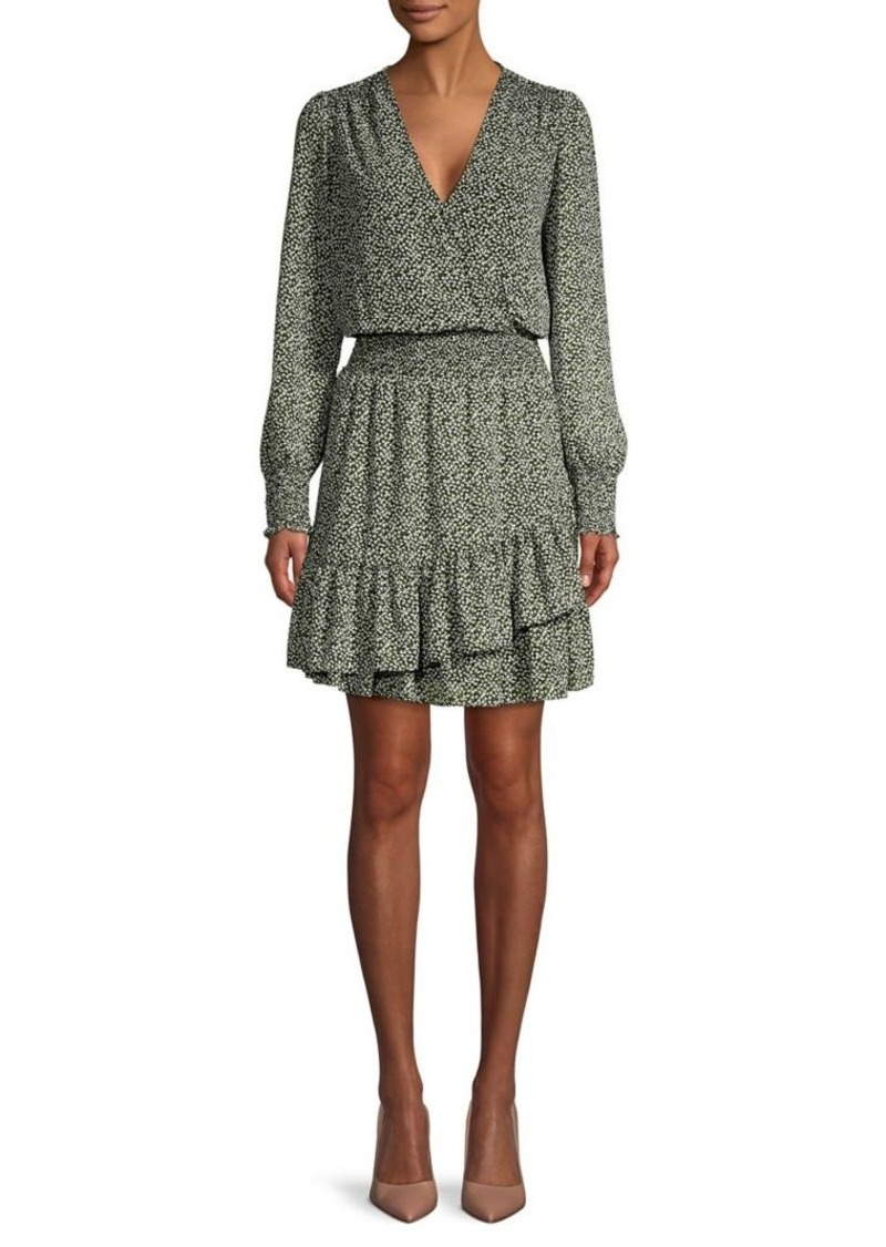 MICHAEL Michael Kors Printed Mini Dress