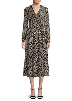 MICHAEL Michael Kors Printed Wrap Dress