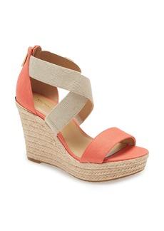 MICHAEL Michael Kors Prue Platform Wedge Sandal (Women)