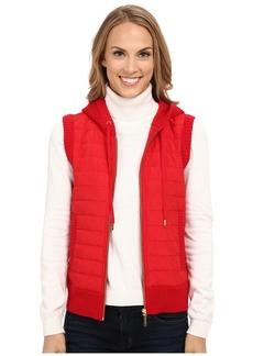 MICHAEL Michael Kors Puff Zip Front Vest