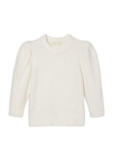 MICHAEL Michael Kors Puffed Sleeve Cropped Sweater