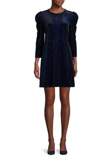 MICHAEL Michael Kors Puffed-Sleeve Shift Dress