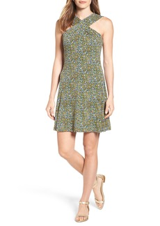 MICHAEL Michael Kors Quinn Floral A-Line Dress (Regular & Petite)