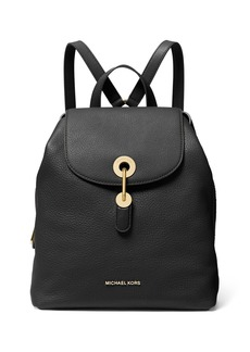 MICHAEL Michael Kors Raven Medium Leather Backpack
