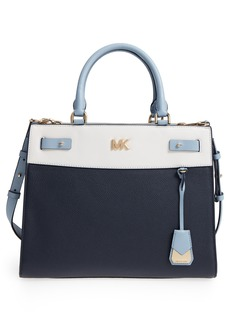 MICHAEL Michael Kors Reagan Large Leather Satchel