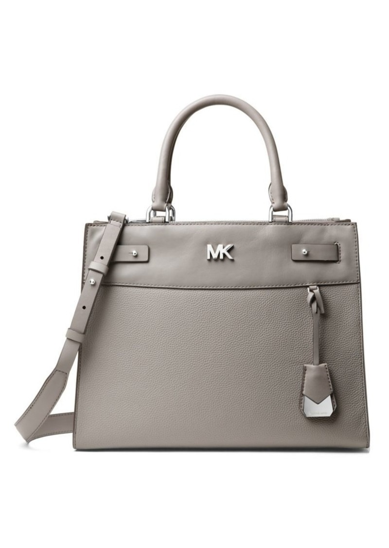 0a72088d6771 MICHAEL Michael Kors MICHAEL MICHAEL KORS Reagan Large Leather ...