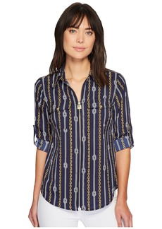 MICHAEL Michael Kors Reef Knot Lock Zip Top