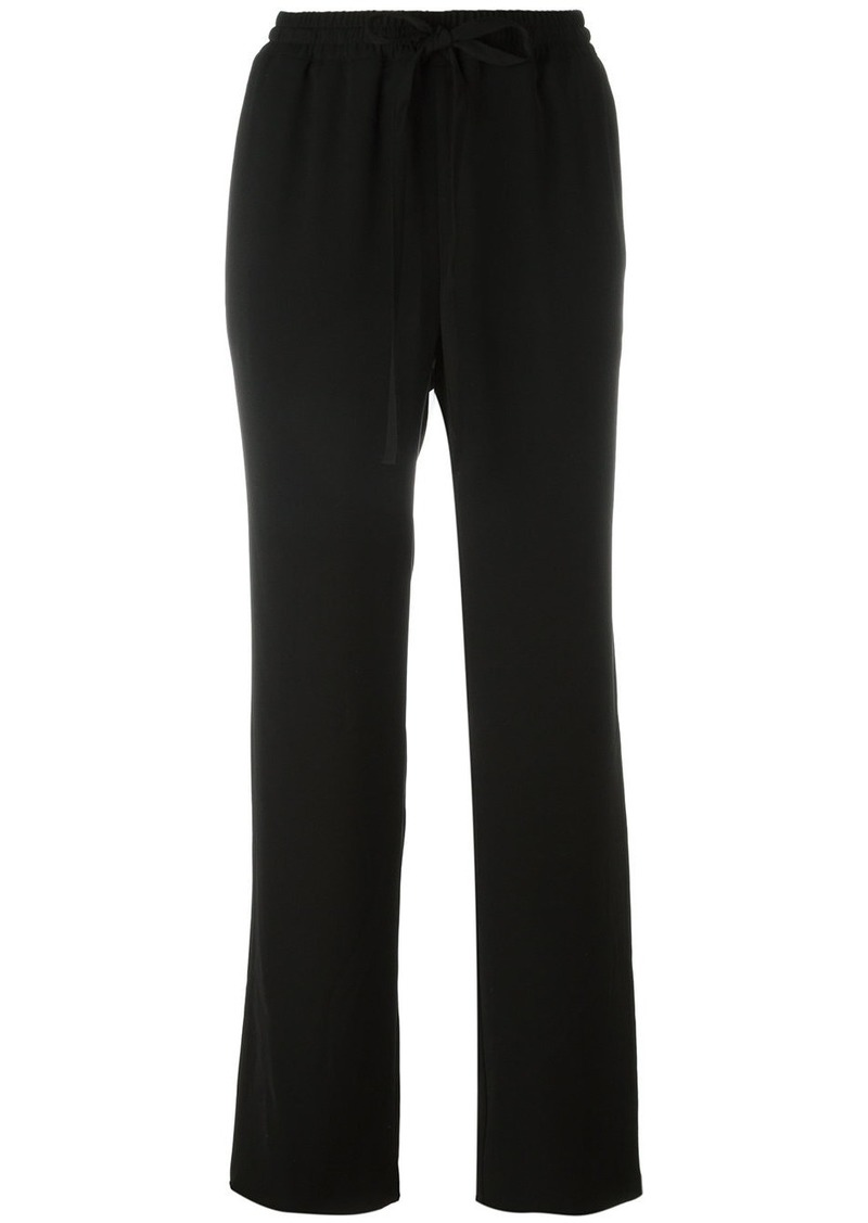 MICHAEL Michael Kors relaxed, self tie waist trousers