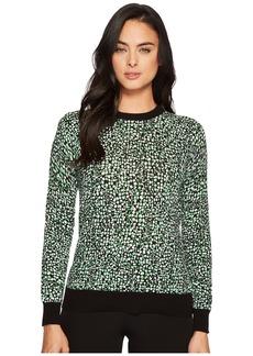 MICHAEL Michael Kors Reptile Print Sweater