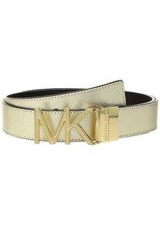 Reversible Chain Logo Hardware Belt