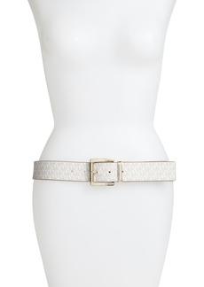 MICHAEL Michael Kors Reversible Logo Belt