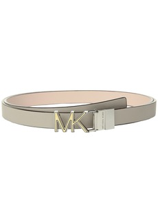 Reversible Two-Tone Logo Belt