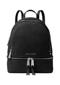 MICHAEL MICHAEL KORS Rhea Perforated Leather Backpack