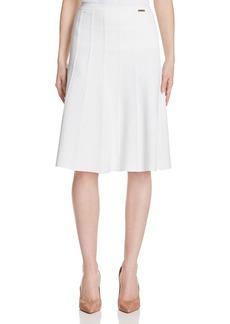 MICHAEL Michael Kors Rib Seam Skirt