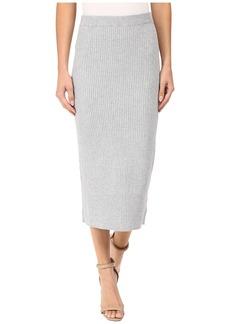 MICHAEL Michael Kors Rib Skirt w/ Transfers
