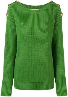 Michael Michael Kors ribbed knit sweater - Green