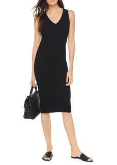 MICHAEL Michael Kors Rib-Knit Sweater Dress